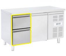 Immagine Supplemento 2 Cassetti 1/2 Per Tavoli Refrigerati Serie SK