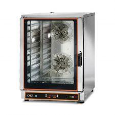 Forno Elettrico Ventilato Professionale a Vapore 10 Teglie