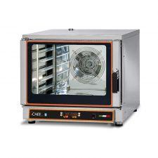 Forno Elettrico Ventilato Professionale a Vapore 5 Teglie