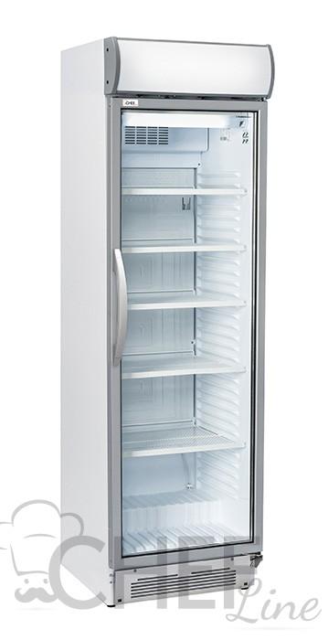 Immagine Vetrina Refrigerata Per Bibite 325 Litri Con Canopy Pubblicitario Chefline