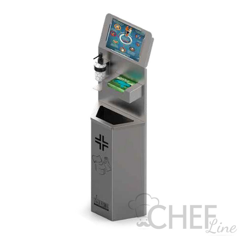 Colonnina Porta Dispenser Autoportante