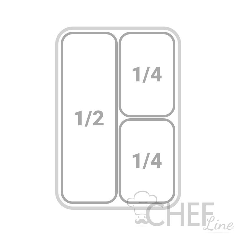 2 Cesti 1/4 e 1 cesto 1/2 Per Cuocipasta 13 Lt - Chefline