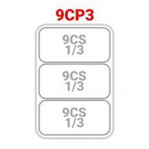 3 cestelli 1/3 per cuocipasta serie 90