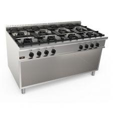 Cucina Professionale 8 Fuochi Profondità 20GX9F8M 90 cm