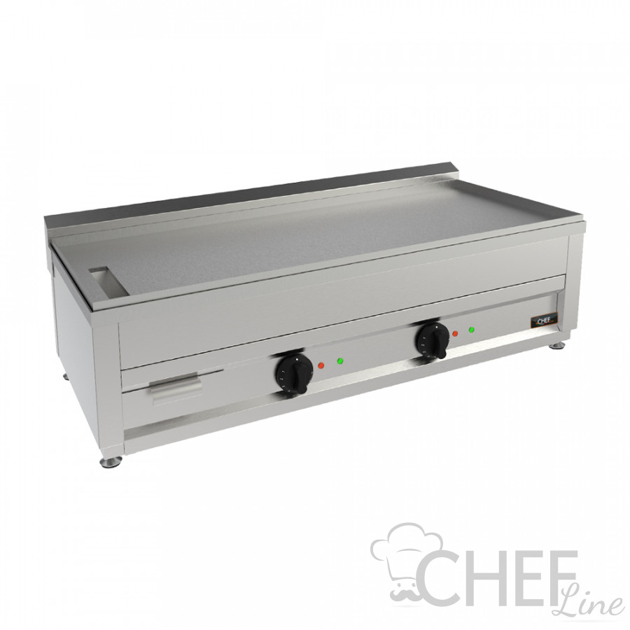 CHEFLINE Cuocipiada Elettrico Da Banco Profondità 102 L x 53 P cm