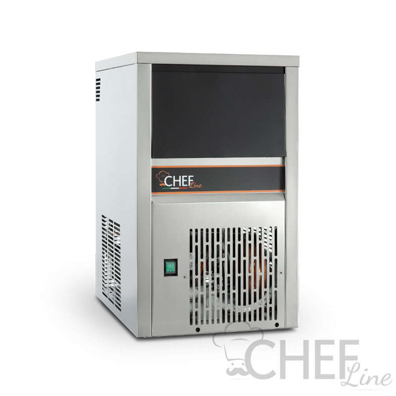 Immagine Fabbricatore di ghiaccio Cubetto Pieno Chefline CHGPN2006W