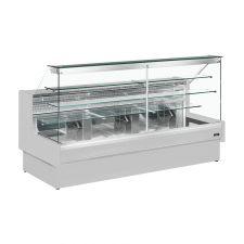 Banco Pasticceria Como Statico Con Cassettone Scorrevole e Vetri Dritti Profondità 98 cm +4°C/+6°C