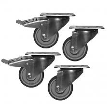 Immagine ruote optional per tavoli refrigerati Chefline
