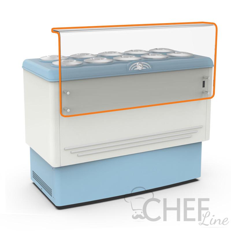 Copertura In Plexiglass Con Mensola Di Appoggio e Portagusti Per CHBGC10