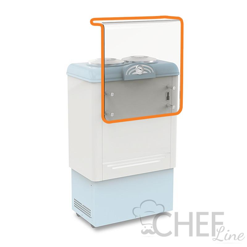 Copertura In Plexiglass Con Mensola Di Appoggio e Portagusti Per CHBGC2 e CHBGC4