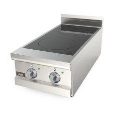 Cucina A Induzione Da Banco 2 Zone Cottura Profondità 70 cm