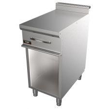 CHEFLINE Piano Inox Neutro Per Cucina Con Cassetto Professionale Profondità 70 cm 20NX7T35MC