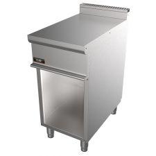 Piano Inox Neutro 40 Cm Per Cucina Professionale Profondità 70 cm