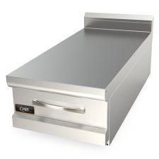 Piano Neutro Da Banco Con Cassetto Per Cucina Professionale Profondità 90 cm