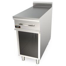 Piano Neutro Su Mobile Con Cassetto Per Cucina Professionale Profondità 90 cm