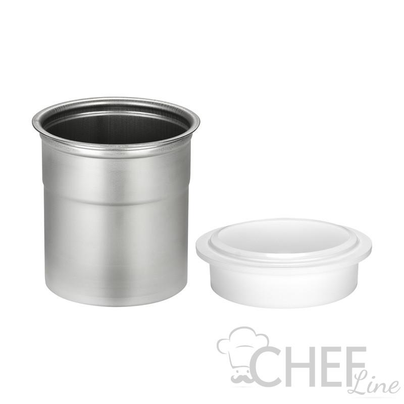 Bicchieri in acciaio inox con relativo anello
