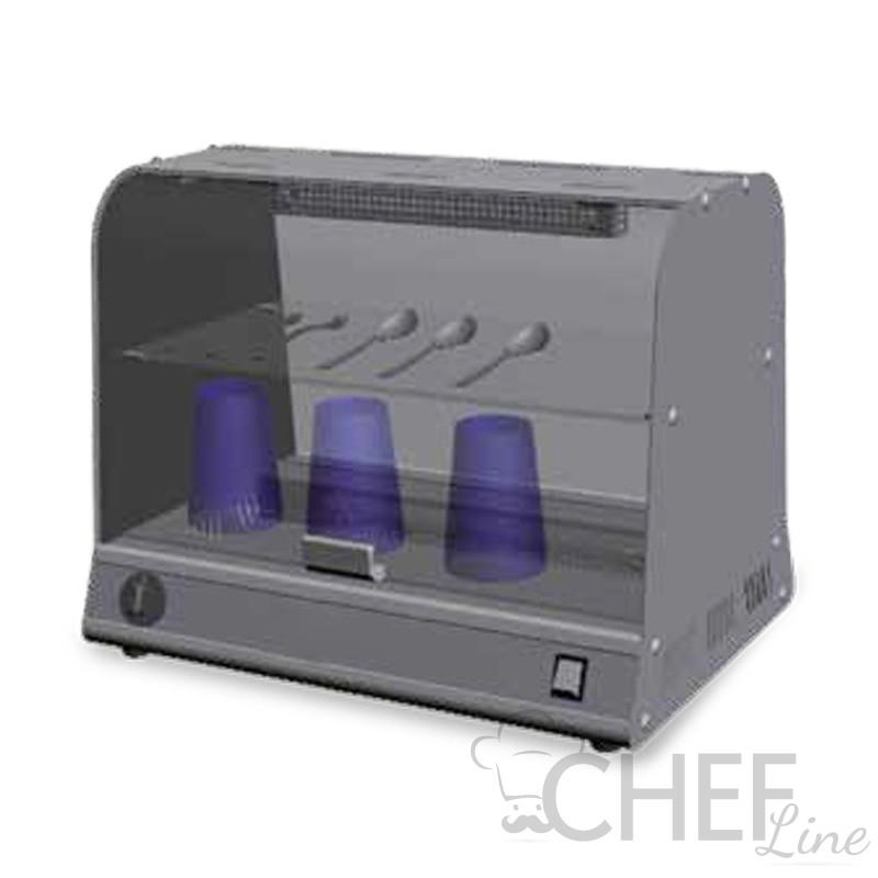 Sterilizzatore UV Orizzontale Con Ripiani