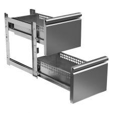 Immagine Supplemento 2 Cassetti 1/2 Per Tavoli Refrigerati