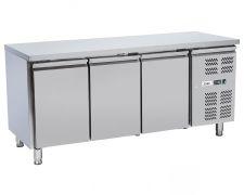 Immagine Tavolo Frigo Professionale Chefline 3 Porte