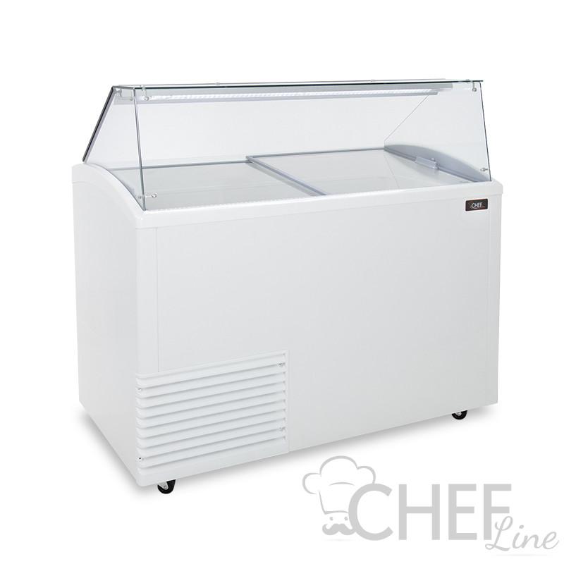 Vetrina Gelateria 10 Gusti Vasche Da 5 Litri -15°C/-20°C