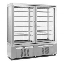 Vetrina Congelatore Gelati Verticale CHGL176194 Chefline