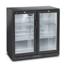 Vetrina Refrigerata 201 Litri Con Porte Scorrevoli Chefline