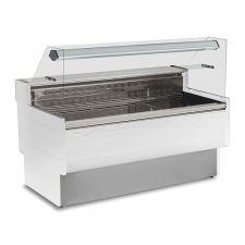 Banco Refrigerato Semi-ventilato Kibuk Bianco + Scorrevoli + Mensola