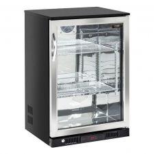 Vetrina Refrigerata Da Incasso 138 Litri Con Porta Battente Chefline