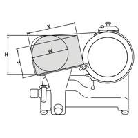 Capacità di taglio dell'affettatrice zaffira LX 350 Automatica