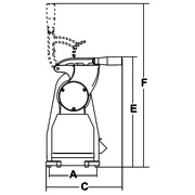 Ingombri GTX 1,5 HP grattugia elettrica professionale Monofase