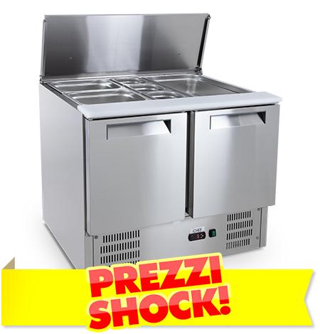 Saladette Refrigerate Prezzi Shock