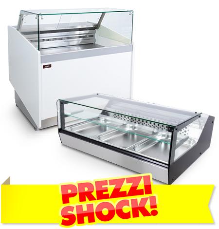 Banchi Frigo e Vetrine Per Bar Prezzi Shock