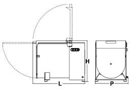 Ingombri Mescolatore Professionale 043113