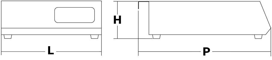 piastra a induzione portatile IH35