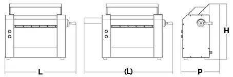 Ingombri Tirasfoglia Professionale Cilindro 250 mm TS256 Chefline